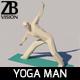 Yoga man - 3DOcean Item for Sale