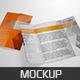 Realistic Gate Fold Brochure Mockup - GraphicRiver Item for Sale