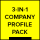 Company Profile Brochures Pack (3-in-1) - GraphicRiver Item for Sale