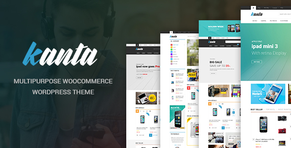 Kanta - Multipurpose WooCommerce WordPress Theme