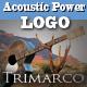 Acoustic Power Guitar Logo