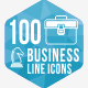 100 Business Hexagone line Icons - GraphicRiver Item for Sale