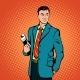 Businessman Concept Comics Style - GraphicRiver Item for Sale