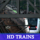 HD Train passing under the camera w/sound - VideoHive Item for Sale