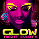 Glow Night Party Flyer Template - GraphicRiver Item for Sale