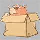 Set of Cartoon Cats for your Design - GraphicRiver Item for Sale