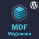 MDF Megamenu – Bootstrap Responsive WordPress Megamenu