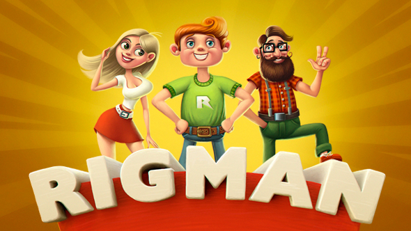Rigman - Complete Rigged Character Toolkit