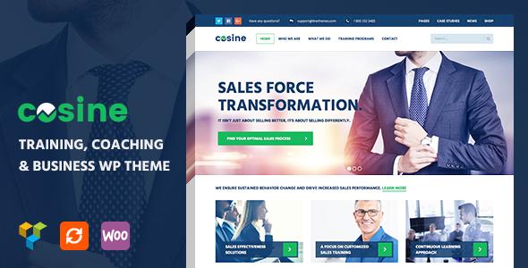 Cosine - Training & Coaching WordPress Theme