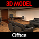 Office 3D Model - 3DOcean Item for Sale