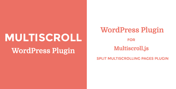 Multiscroll – WordPress PluginPrice : $20