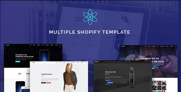 ST Landingpage - Shopify Template
