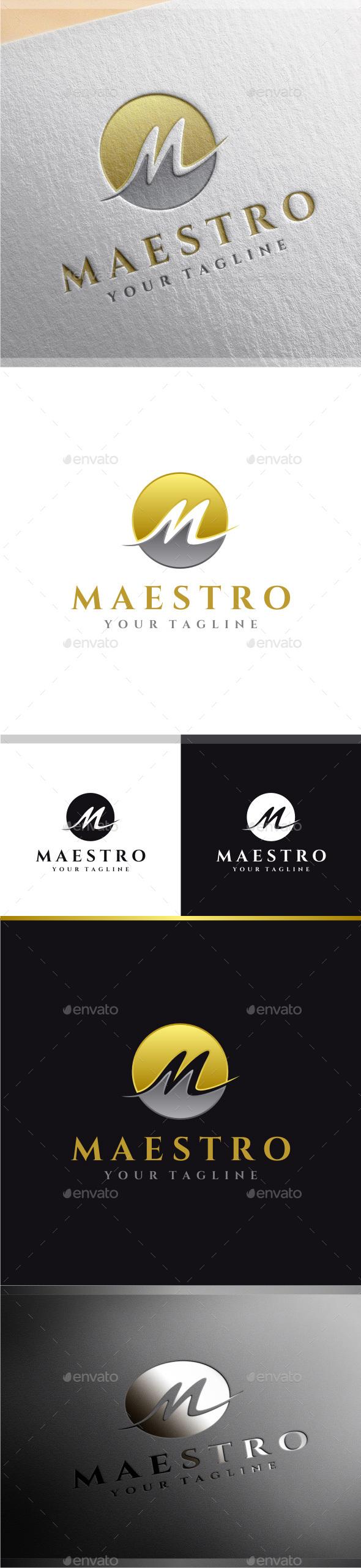 Maestro - Letter M Logo