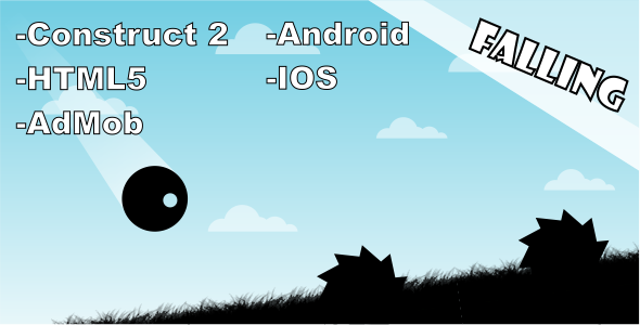 Falling - HTML5 Mobile Game Download