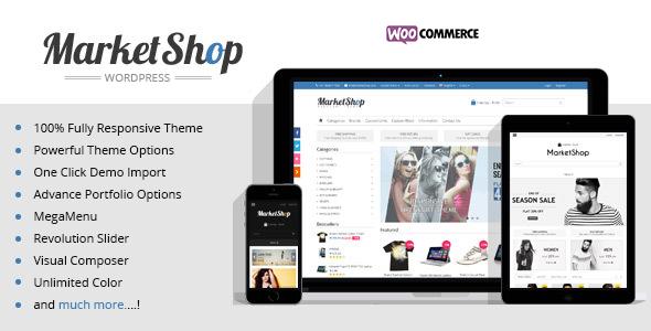 Marketshop | Ultimate WooCommerce Theme