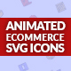 Ecommerce Animated SVG icon set - CodeCanyon Item for Sale