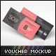 Gift Voucher Mockup - GraphicRiver Item for Sale