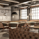 Big Restaurant Loft Project - 3DOcean Item for Sale