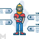 Modern Guy Infographic - GraphicRiver Item for Sale