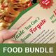 Restaurant Food Print Bundle - GraphicRiver Item for Sale