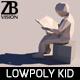 Lowpoly Kid 006 - 3DOcean Item for Sale