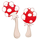 A Mushrooms for a Computer Game and you Design  - GraphicRiver Item for Sale