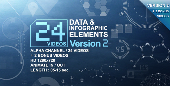 Videohive | 24 Videos Data & Infographic Elements V.2 Free Download free download Videohive | 24 Videos Data & Infographic Elements V.2 Free Download nulled Videohive | 24 Videos Data & Infographic Elements V.2 Free Download