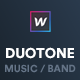 Music & Band Webflow Website Template — Duotone - ThemeForest Item for Sale