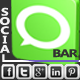 Simple Social Bar - CodeCanyon Item for Sale