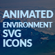 Environment Animated SVG Icons - CodeCanyon Item for Sale