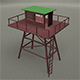 Low Poly Watch Tower  - 3DOcean Item for Sale