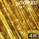 Gold Particles Rising 13 Background - VideoHive Item for Sale