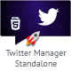 Twitter Manager Standalone Script - CodeCanyon Item for Sale