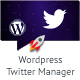 Twitter Manager WP Plugin - CodeCanyon Item for Sale