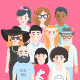 Characters Builder - Vector Pack - GraphicRiver Item for Sale
