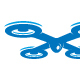 Drone - letter X logo - GraphicRiver Item for Sale
