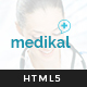 Medikal - Health Care & Medical HTML5 Template - ThemeForest Item for Sale