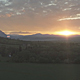 Spring Sunset Over the Mountains and River - VideoHive Item for Sale