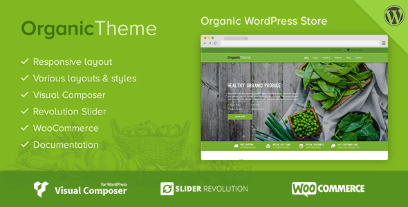 Organic | Farm & Food Business WordPress Theme