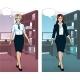 Caucasian Businesswoman In Office Interior - GraphicRiver Item for Sale