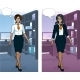 Indonesian Businesswoman In Office Interior - GraphicRiver Item for Sale