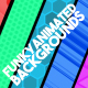 7 Funky Animated Backgrounds - VideoHive Item for Sale