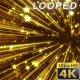 Gold Glowing Stars Background - VideoHive Item for Sale