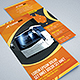 Trifold Brochure 40: Bus Transportation Agency - GraphicRiver Item for Sale