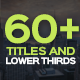 Modern Titles and Lower Thirds - VideoHive Item for Sale