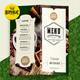 Coffee Menu Flyer Bifold - GraphicRiver Item for Sale