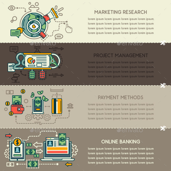 Online Banking Graphics, Designs & Templates from GraphicRiver