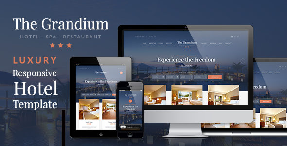Grandium - Luxury Hotel Theme