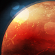 Planet Mars in Space - GraphicRiver Item for Sale