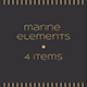 Marine Elements - GraphicRiver Item for Sale